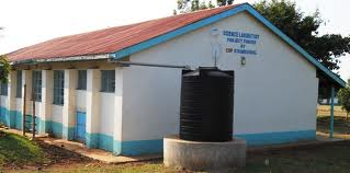 Health facility constructed by the use of CDF
