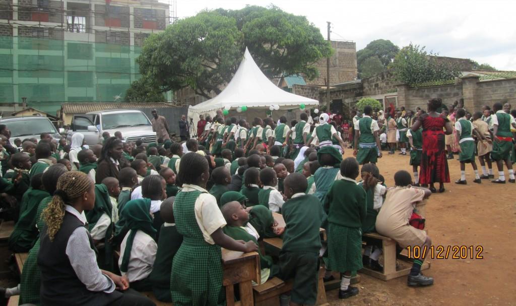 Green pastures school children